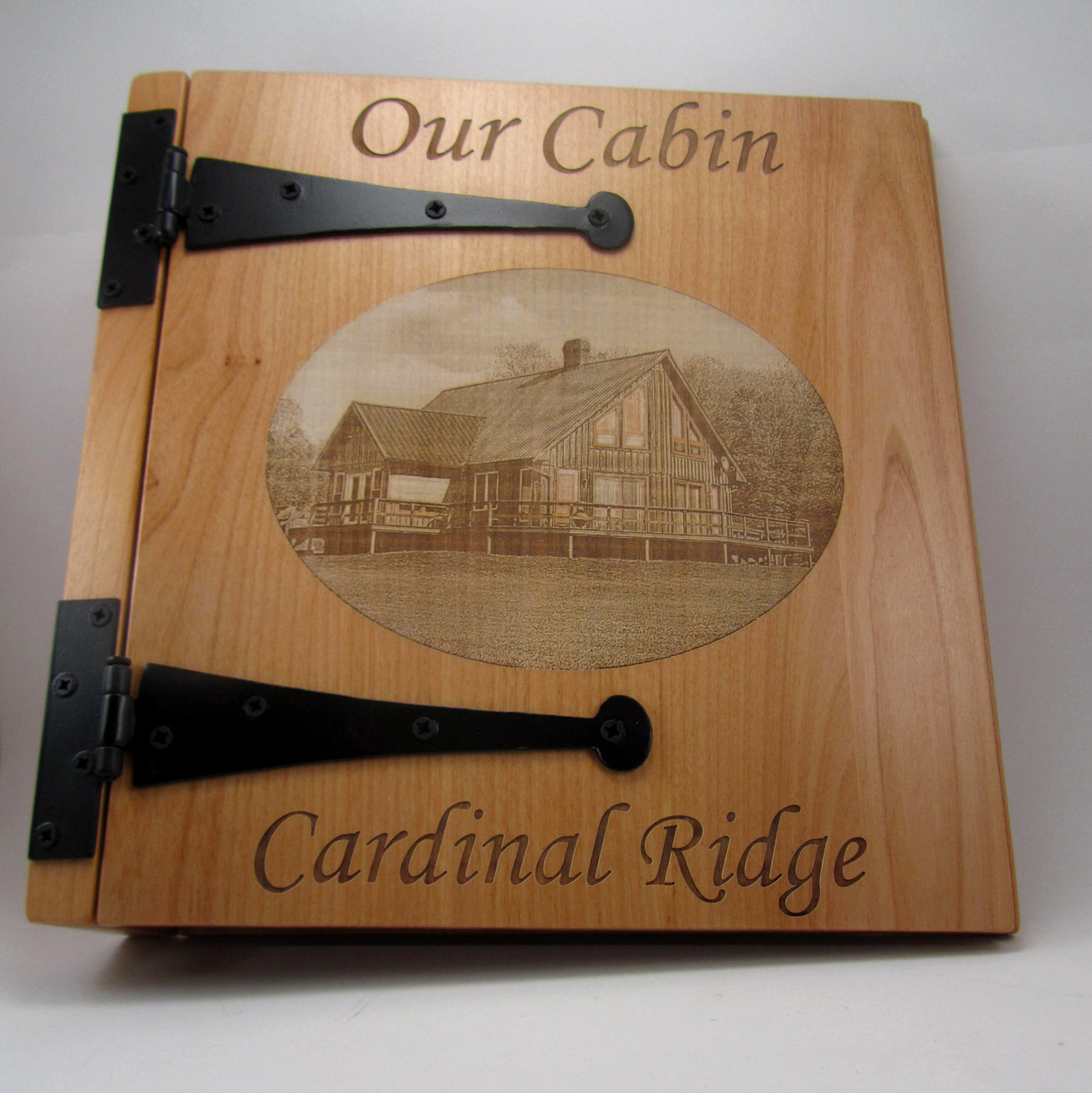 Personalized Cabin Photo Album