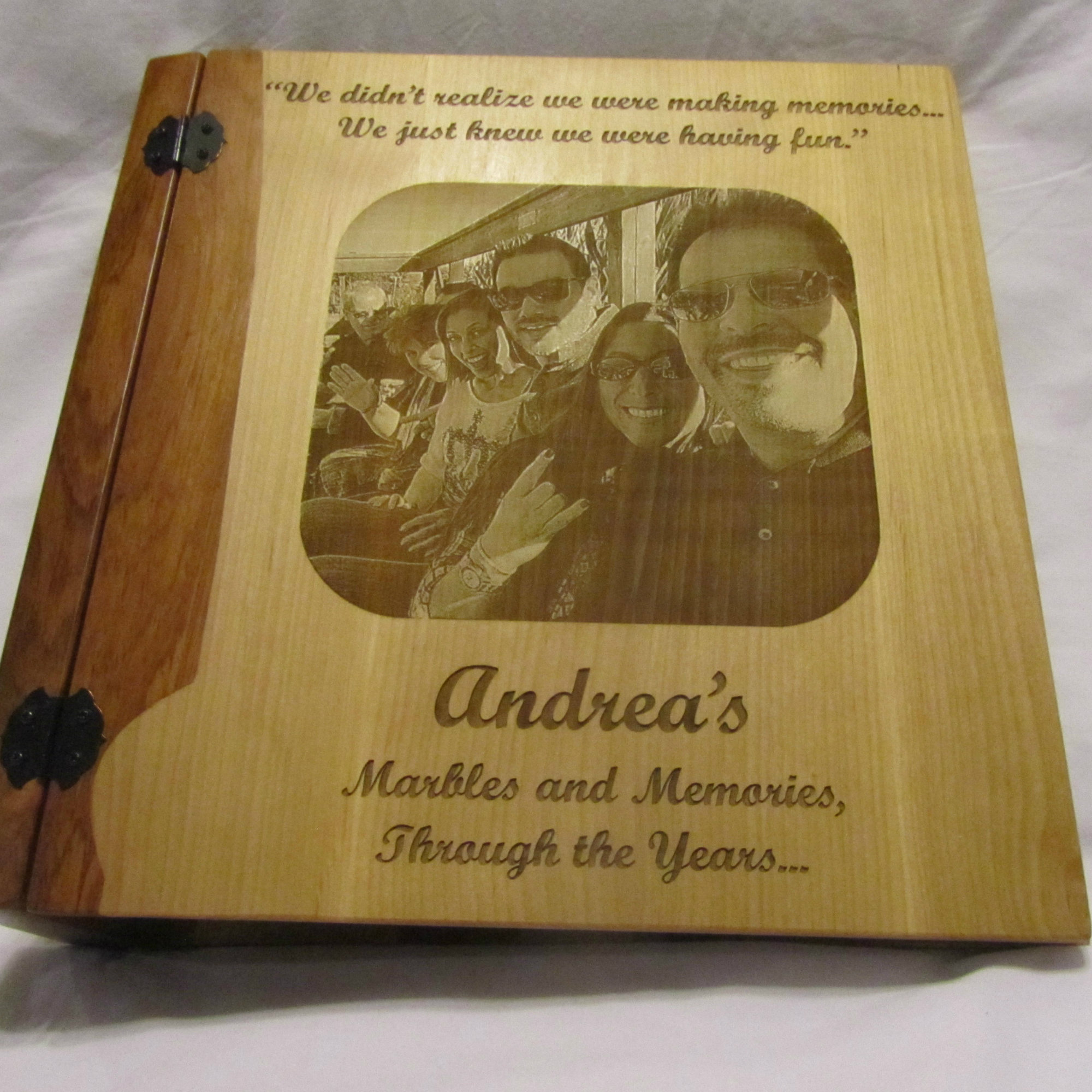 Personalized Photo Album For Family Vacation