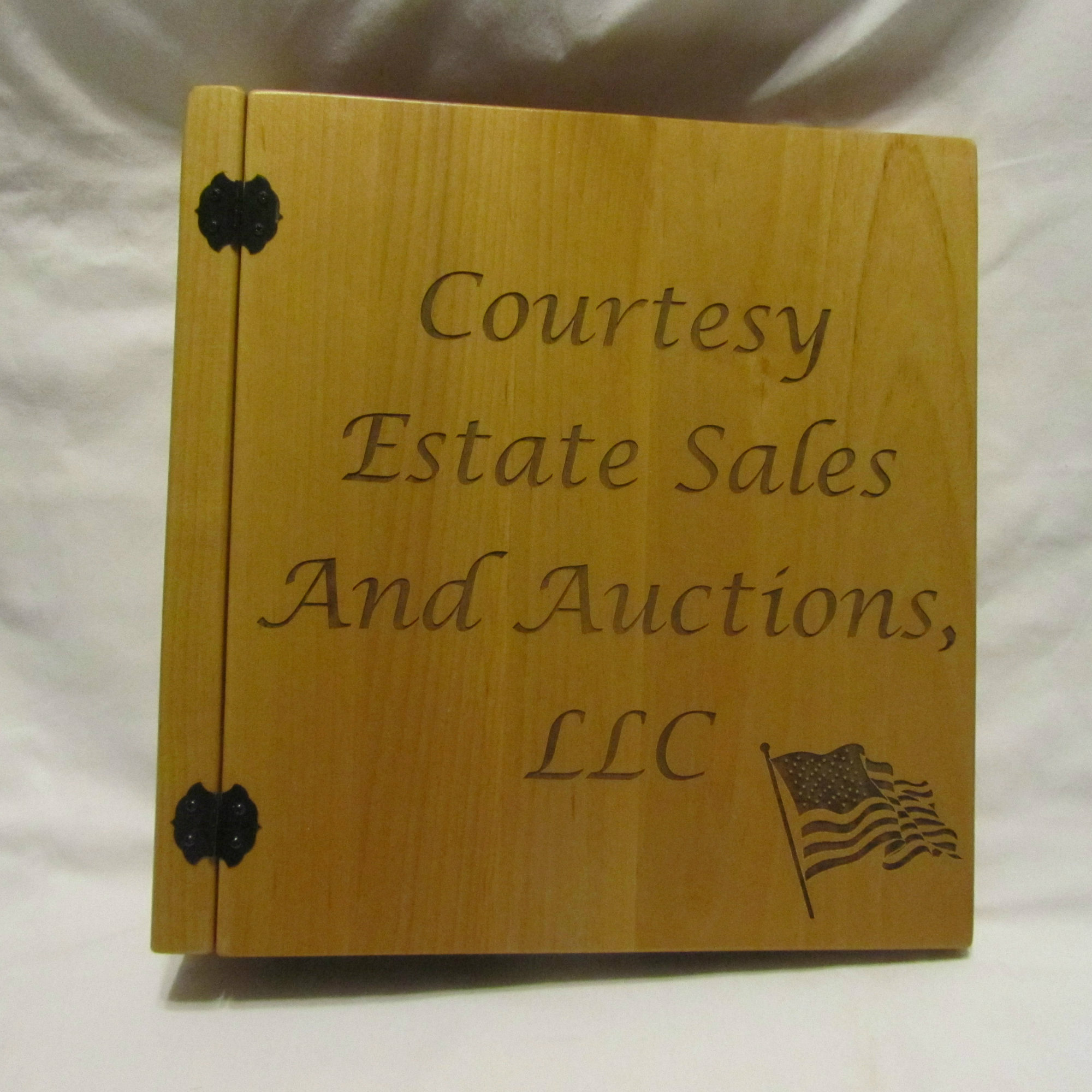 Personalized Photo Album For Auction Business